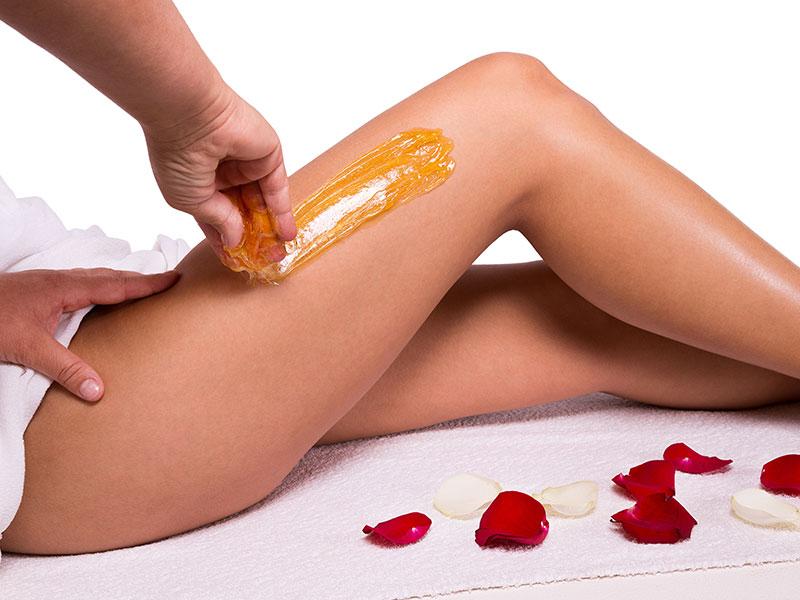 Body Sugaring Legs Treatment
