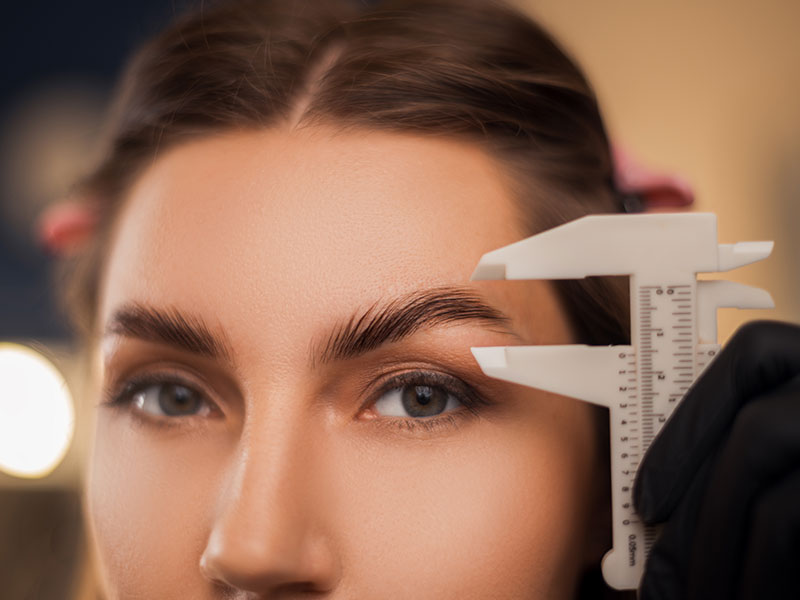 Brow Lamination Measurement