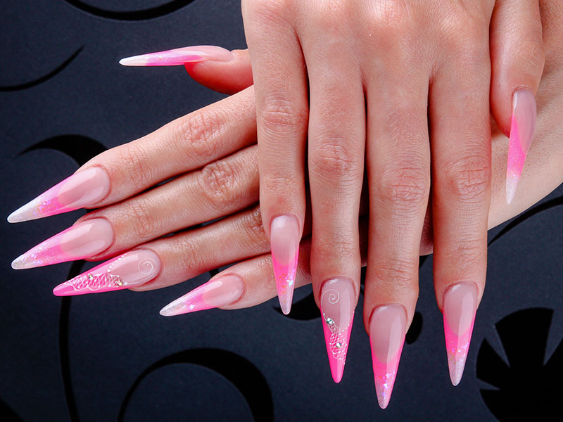Extreme Nail Shapes Beauty School Training Course