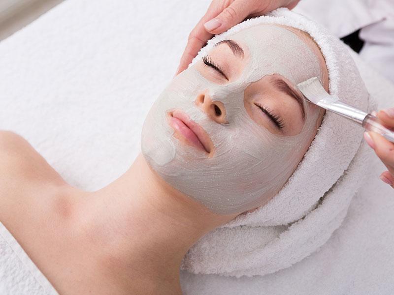 Chemical Facial Peel Application