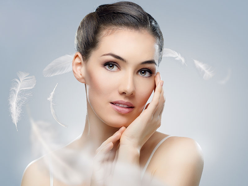 Feather Laser Facial Skin Treatment