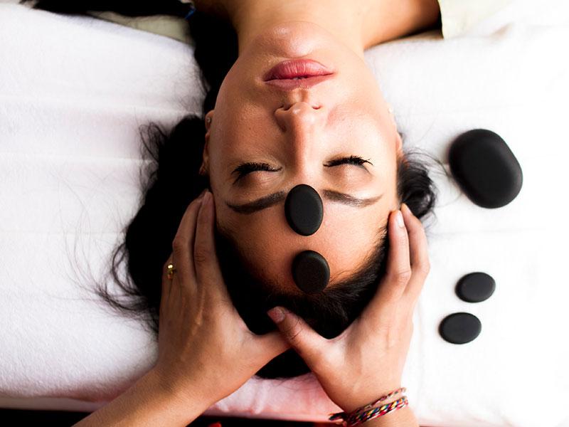Hot Stone Head Massage Techniques