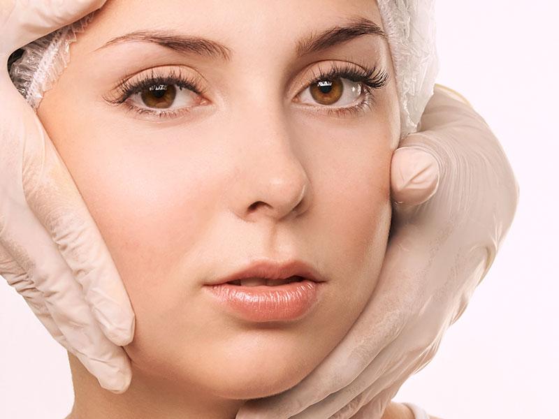 Hydro Facial Treatment Preparation