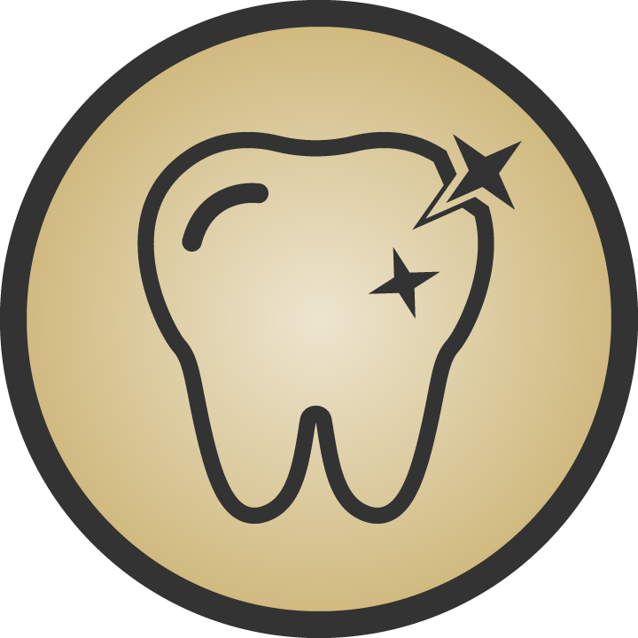 Laser Teeth Whitening Icon