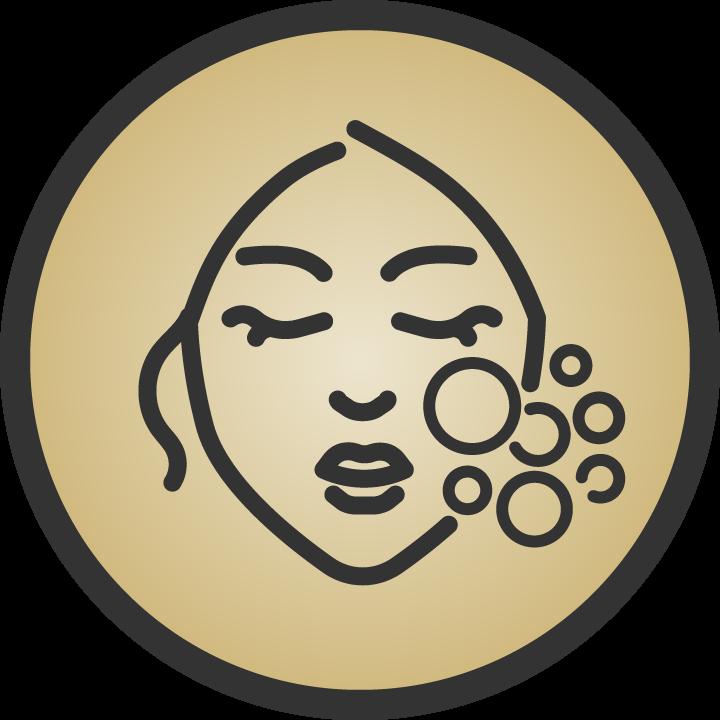 Oxygen Facial Icon