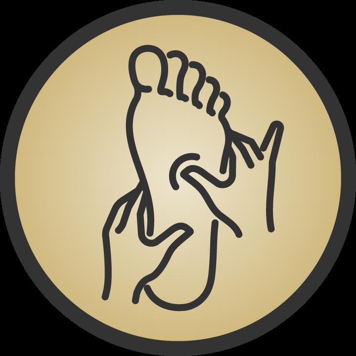 Reflexology Massage Icon