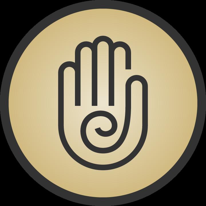 Reiki Healing Icon