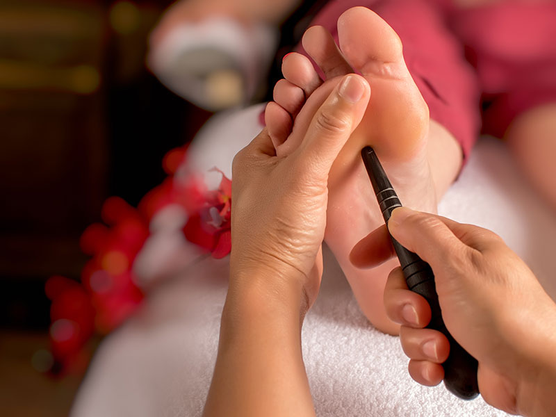 Reflexology Pressure Massage