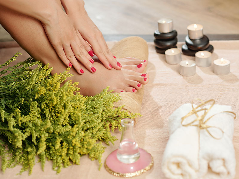 Spa Treatment Pedicure